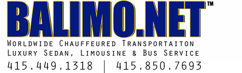 BALIMO.NET | (415) 449.1318 | Worldwide Chauffeured | Luxury Sedan, Limousine & Bus Service