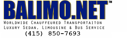 BALIMO.NET | (415) 850-7693 | Worldwide Chauffeured | Luxury Sedan, Limousine & Bus Service